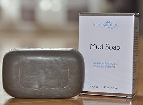 Лучший грязи Мертвого моря мыло - Сегодня в продаже - все природные, мягкий и эффективный лица, рук и тела Очищение мыло - 100% натуральная Dead Mud море Плюс сочетание всех природных масел - отшелушивает, очищает, увлажняет и питает кожу - для любой кожи