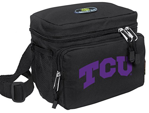 Broad Bay Texas Christian University Lunch Bag Official NCAA TCU Lunchboxes