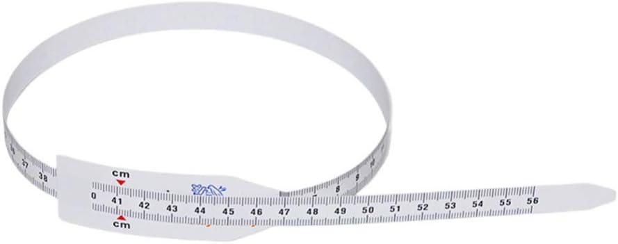 ULTECHNOVO Lot de 3 rubans /à mesurer en plastique pour tour de t/ête
