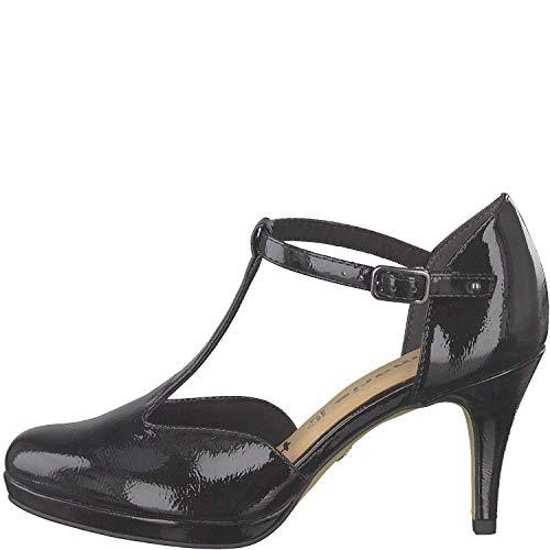 Patent Scarpe Signora Col 24433 32 Tamaris Donna Tacco 1 Black Cinturino1 vqxAnOZ8