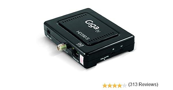 Giga TV HD350 S - Sintonizador de TV (HD, HDMI, DVB-S2, USB ...