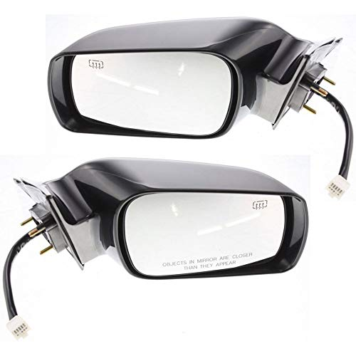 (Power Mirror compatible with Toyota Avalon 00-04 Right and Left Side Non-Folding Heated W/Memory XL/XLS Models Paintable )