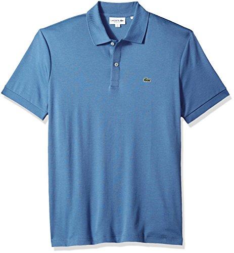 Lacoste Men's Short Sleeve Pima Jersey Interlock Regular Fit Polo, DH2050, King, 3XL