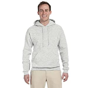 Jerzees 8 oz. NuBlend 50/50 Pullover Hood, Birch Silver - Large