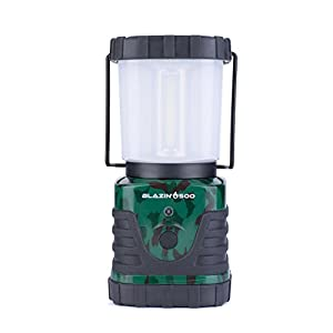 Brightest LED Storm & Power Outage Lantern - Battery Powered - 500 Lumen - 6 Day Run Time