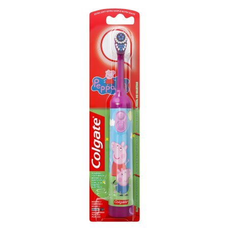Colgate Kids battery powered toothbrush, peppa pig (Pack of 12) by Colgate