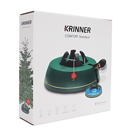 Krinner Comfort Christmas Tree Stand, Standard, Teal, 34 x 34 x 9 ...