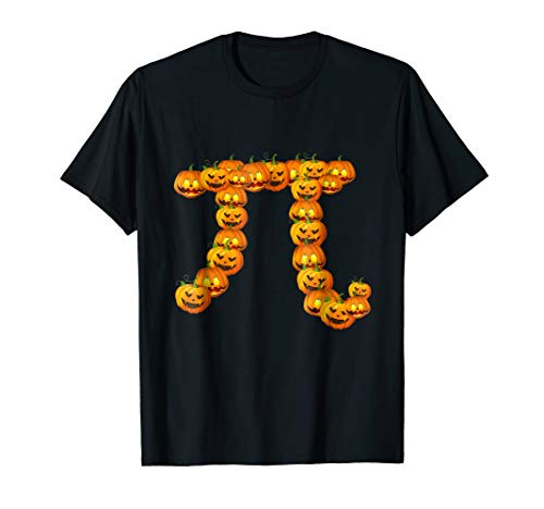Pumpkin Pi T-shirt Funny Hallowen T-shirt -