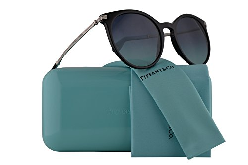 Tiffany & Co. TF4142B Sunglasses Black w/Blue Gradient Lens 54mm 80019S TF4142-B Tiffany&Co. TF 4142B TF - Frames Ophthalmic Tiffany