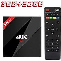 2017 Model Amazing Powerful Media Streaming Player H96 PRO Plus Android 7.1 TV Box | Amlogic S912 Octa Core 3GB RAM 32GB ROM