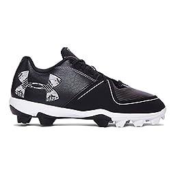 Under Armour Women\'s Glyde RM Softball Cleats, Black/Black, 8