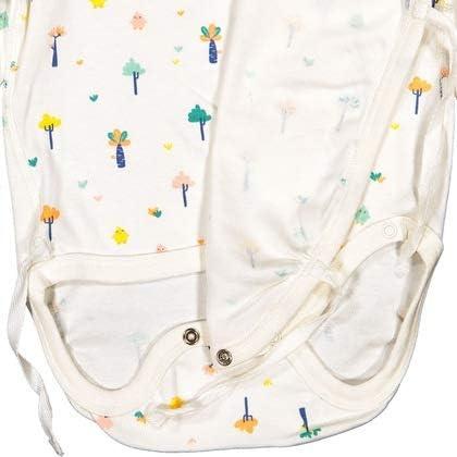 Pyret Candy Tree GOTS WRAP Bodysuit PREEMIE-6MOS - 1-2 Months//Snow White Polarn O
