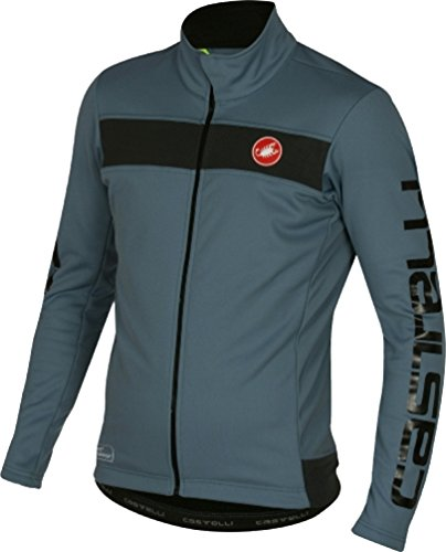 - Castelli Raddoppia Jacket - Men's Mirage/Black Reflex, XL