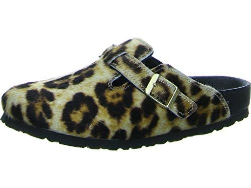 Birkenstock Boston Snow Leopard Exquisit