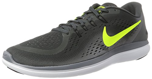 Nike Flex 2017 RN Grey (Nike Flex Run 2015 Mens Running Shoes)