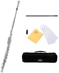 Cecilio FE-280N - Flauta travesera (en do, níquel), color plateado