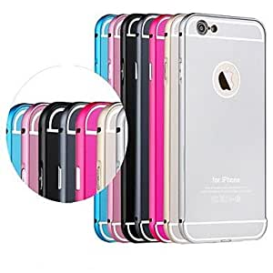 Toophone? JOYLAND Metal Frame Back Rear Cover Case for iPhone 6 Plus (Assorted Color)