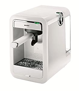 Guzzini 28200111 G-Plus Machine à Café Expresso Single Blanc 23,5 x 16 x 21 cm