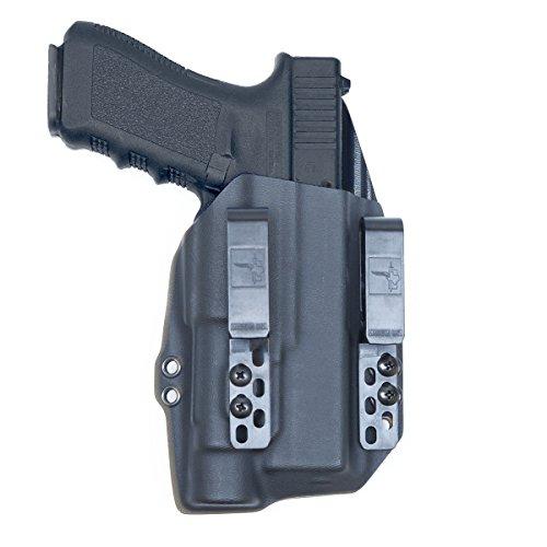 Bravo Concealment: Glock 17 22 31 TLR1s IWB DOS-Light Bearing Gun Holster (Best Glock 17 Barrel)