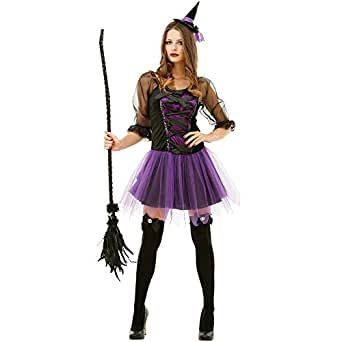 Womens Deluxe Witch Costume - Great for Parties! (MEDIUM)