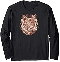 Cool Painted Lion T-shirt