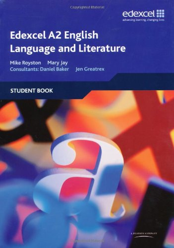 A2 english language and literature coursework edexcel