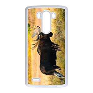 LG G3 Cell Phone Case White Moose Gmwif