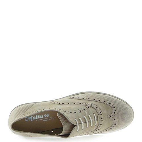 femme sable Les zeppetta Francesina de R2735 pointe Corde chaussures MELLUSO wxYqIap4I