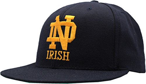 Vintage Notre Dame Fighting Irish American Made Wool Snapback Cap American Needle Embroidered Cap
