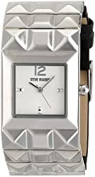 Steve Madden Women's SMW00057-01 Analog Display Quartz Black Watch