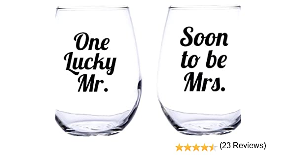 Workbook christmas kids worksheets : Amazon.com: One Lucky Mr and Soon to Be Mrs. Wine Glass Engagement ...