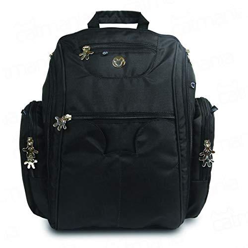 Baby Bag G Sport Backpack Embal Saco Polietileno, Disney Baby Go, Preto