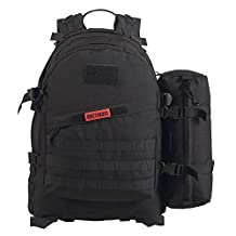OneTigris 1000D Nylon 50L Bushcraft Backpack MOLLE Tactical Outdoors Camping Hiking EDC Survival 3 Day Pack