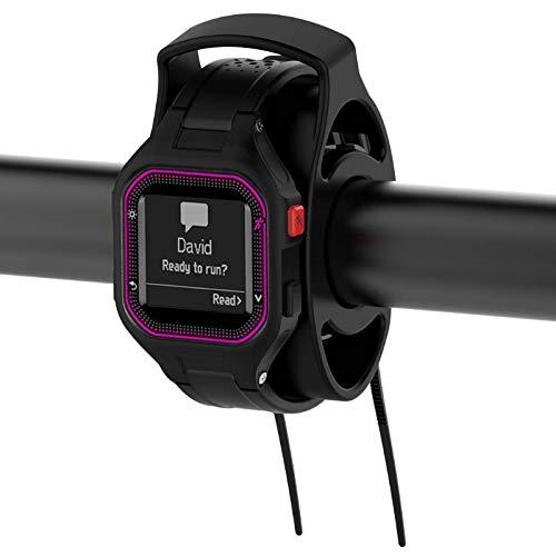 (Bike Handlebar Watch Mount Kit Holder for Garmin Forerunner Tomtom Polar Fitbit )