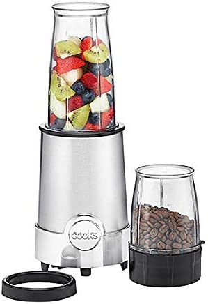 Cooks Licuadora 5 en 1, licuadora de potencia metálica: Amazon.es ...