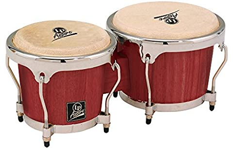 Latin Percussion LPA601-DWC Aspire Dark Wood Bongos (Lp Aspire Bongo Head)