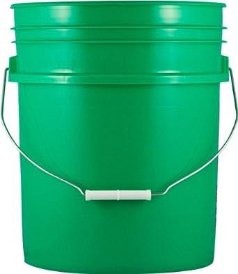 action pump ggp 1 5 gallon plastic pail green industrial drum pumps industrial. Black Bedroom Furniture Sets. Home Design Ideas