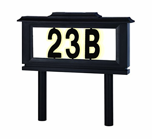 Address Plaque Solar Light