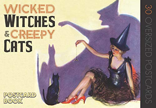Wicked Witches and Creepy Cats: A Halloween Postcard