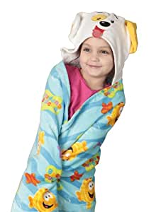 Nickelodeon Bubble Guppies Toddler Hooded Towel (Discontinued by Manufacturer)