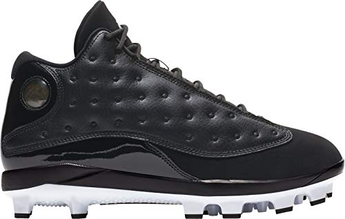 - Jordan Men's Baseball Cleat Air XIII Retro MCS (12, Black)