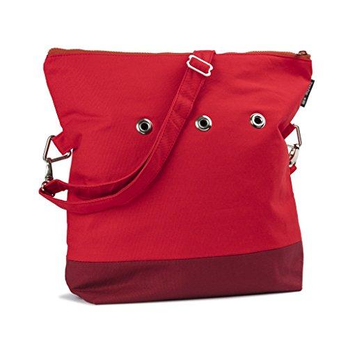 Yarn Pop Totable Knitting Bag - RED+RED by Yarn Pop