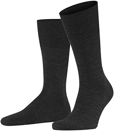 1 Pair thermo-regulating Virgin Wool//Cotton Blend FALKE Men Airport Knee-High Socks Multiple Colours UK sizes 5.5-14 EU 39-50 Warm ideal for any occasion