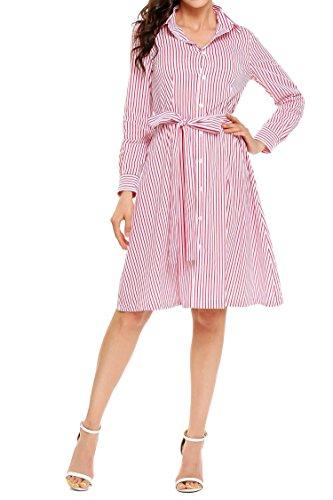 Full Skirt Shirt Dress - 6