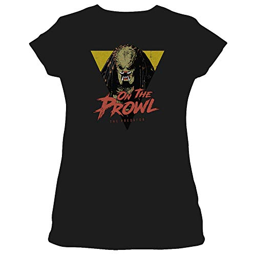 Predator 2018 On The Prowl Women's Sheer Fitted T Shirt -
