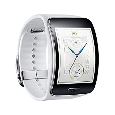 Samsung Galaxy Gear S R750W Smart Watch w/Curved Super AMOLED Display (White)