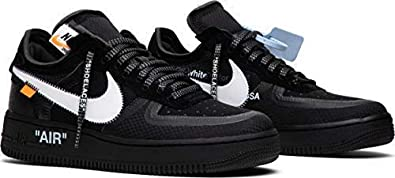 huge selection of e9583 7bf0c NNIKE SNEAKER Air Force 1 Low x Off White (US8, Black White)