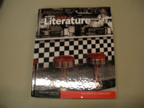 Pearson Common Core Literature The American Experience Volume 1 Teacher's Edition