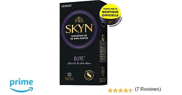 Manix Preservativos, Color Transparente - 10 Preservativos