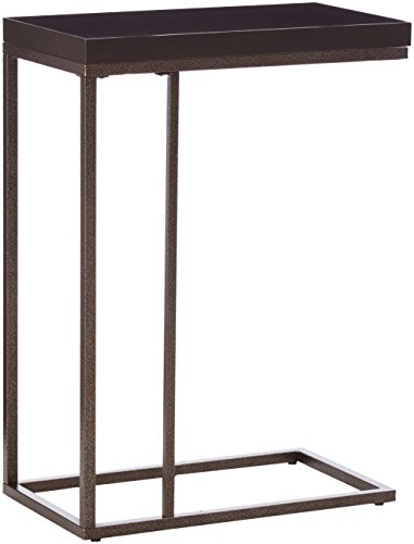 Cheap Monarch Specialties I 3088, Accent Table, Bronze Metal, Cappuccino
